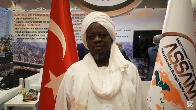 IÜstad Dr. YAHYA ABDULLA AHMED ile 2. Uluslararası STK Fuarında Yapılan Ropörtaj