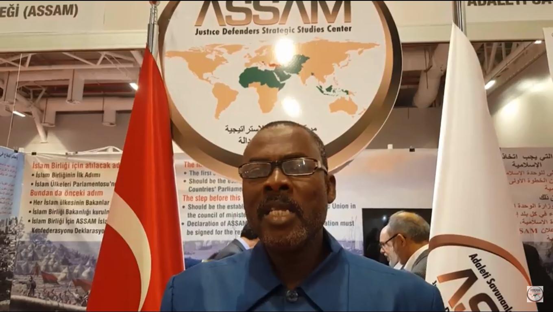 IAfrika'nın ÇAD Ülkesinden gelen ABDULLAH ABDULKERİM AHMED ile ASSAM Röportaj