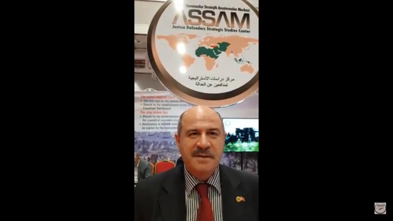 IUluslararası STK Fuarında ASSAM Gnl Sek Ali COŞAR ile röportaj
