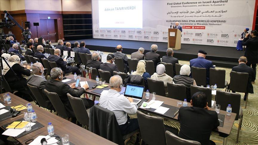 IUluslararası İsrail Etnik Ayrımcılığı Konferansı' Başladı