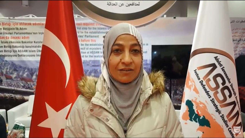 Iالمقابلة الثانية مع زائرتنا في الجناح الدكتورة سحر زكي قابيل من مصر