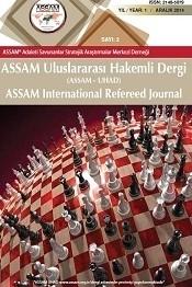 IASSAM Uluslararası Hakemli Dergi (ASSAM - UHAD) 16. sayısı yayınlandı.