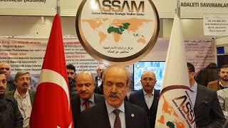 ASSAM İslam Ülkeleri Konfederasyonu Deklarasyonu Basın Toplantısı