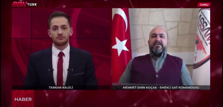 ASSAM Güvenlik ve Strateji Uzmanı Mehmet Emin KOÇAK BBNTürk Yayını